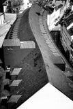 与S-弯曲的里奇线的大厦 图库摄影