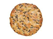 与sesames的米薄脆饼干 库存图片