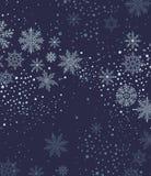 与snow.vector的圣诞节背景 库存图片