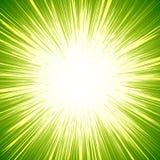 与starburst & x28的生动的五颜六色的背景; sunburst& x29; 象的主题 库存例证