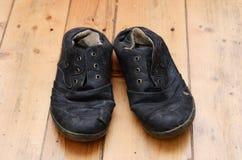 丑恶的鞋子 免版税库存照片