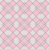 丑角几何无缝的样式 免版税图库摄影