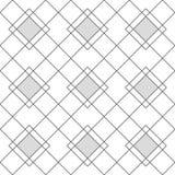 丑角几何无缝的样式 图库摄影