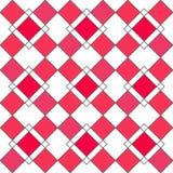 丑角几何无缝的样式 免版税库存照片