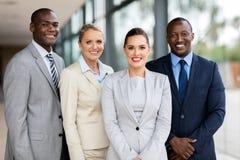 专业企业队 免版税库存图片