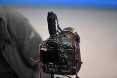 专业佳能数字照相机 图库摄影