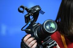 专业佳能数字照相机 免版税库存图片