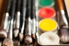 专业化妆用品 图库摄影