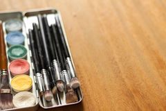 专业化妆用品 库存图片