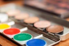 专业化妆用品 库存照片