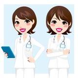 专业医生Woman 免版税库存图片