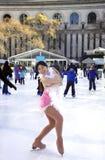 专业女性溜冰者 库存图片