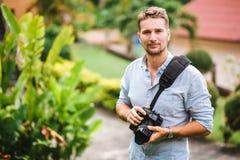 专业摄影师 生活 免版税图库摄影