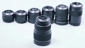 专业摄影透镜和宏指令 库存照片