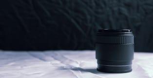 专业摄影透镜和宏指令 免版税库存照片