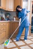 专业清洁服务 库存图片