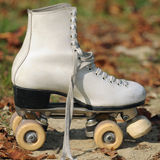 专业溜冰鞋 库存图片