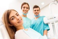 专业牙医办公室 免版税库存照片