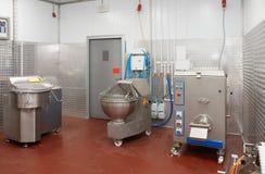专业肉食品处理设备 库存照片