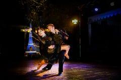 专业舞蹈家 库存照片