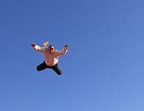 专业跳伞运动员 库存照片
