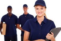 专业送货业务 免版税图库摄影