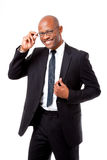 专业非洲人画象  免版税库存照片