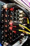 专业音频声测设备 免版税库存图片