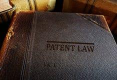 专利权法书  图库摄影