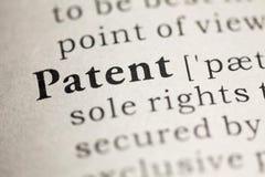 专利 免版税图库摄影