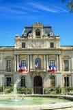 专区在蒙彼利埃,在法国南部 库存照片