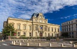 专区de l'Herault在蒙彼利埃,法国 免版税库存照片