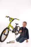 专家自行车 库存照片