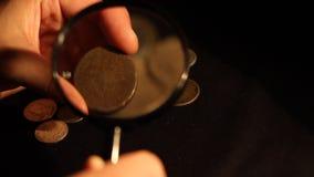 专家评估硬币 股票录像