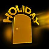 专属假日旅行经验概念 免版税库存照片