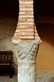 专栏和chapiter在国家戏院博物馆,阿尔玛格罗,西班牙 库存图片