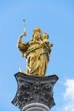专栏圣玛丽慕尼黑 免版税库存图片