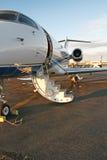 专用企业的喷气机 免版税库存图片