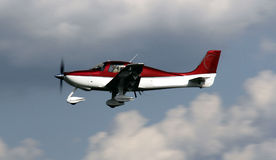 专用平面飞行 免版税图库摄影