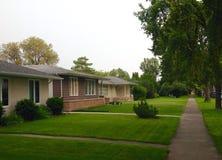 专用房子 免版税库存图片