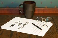 专用的决策 免版税库存图片