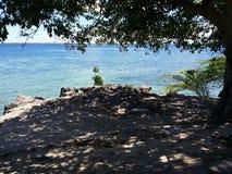 专用的海滩 库存照片