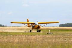 专用的飞机 库存图片