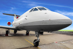 专用的飞机 免版税库存图片