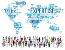 专门技术事业工作行业职业概念 免版税库存照片
