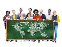 专门技术事业工作行业职业概念 免版税库存图片