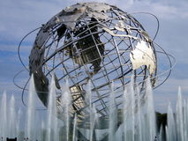 世博会地球(在美国公开赛网球中心旁边) 免版税库存照片