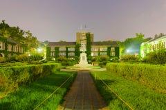 延世大学-汉城,韩国主要历史和行政大厦  免版税库存照片