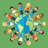 世界人 免版税库存照片