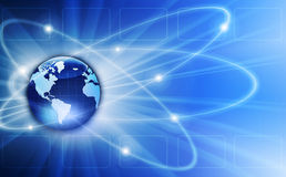 世界例证 免版税库存图片